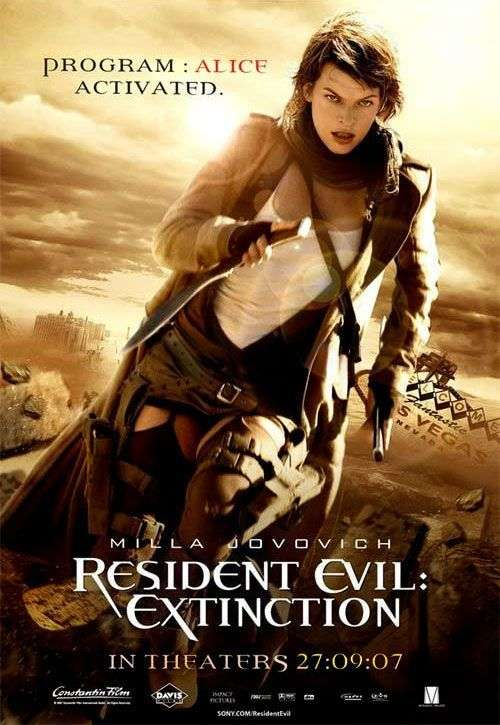 Resident Evil Extinction The Horror Movies Blog The Horror