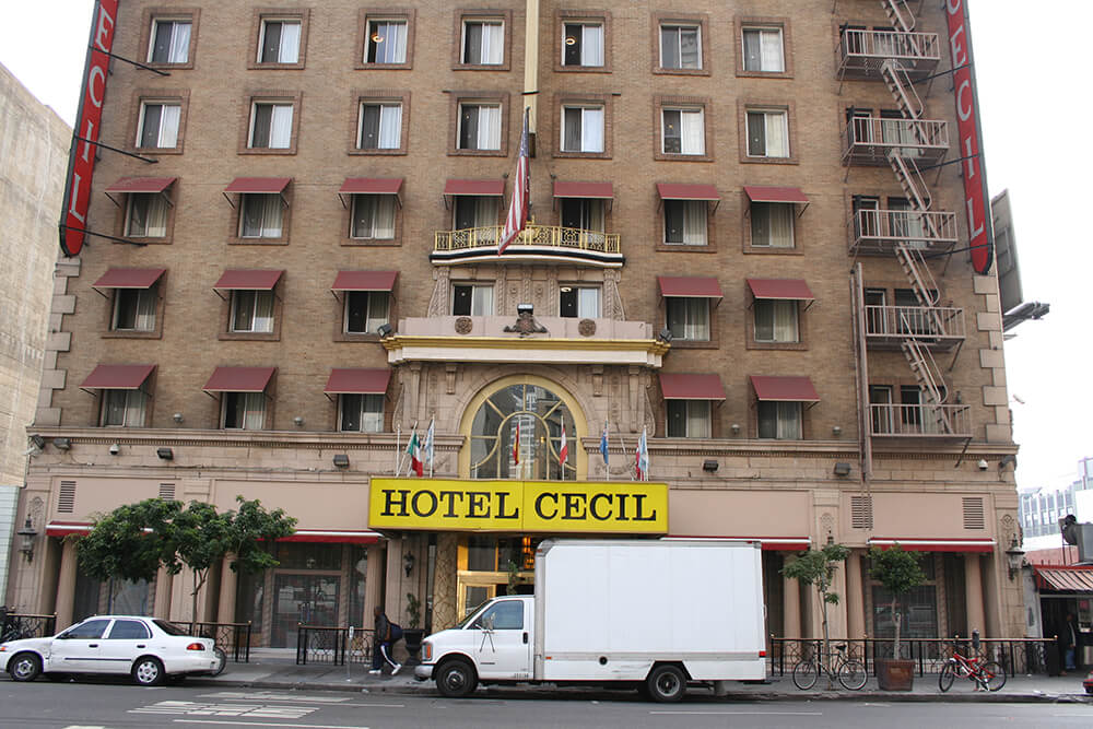 haunted cecil hotel mayfair hotel los angeles the. Black Bedroom Furniture Sets. Home Design Ideas