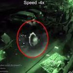 CCTV CAPTURES CHILD RUNNING OUT OF A PORTAL IN NEPAL