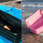Be a Summer Goth With A Floating Pool Coffin